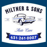 Miltner and Sons Auto Care Menu Logo Home Button