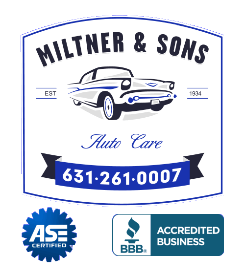 Miltner and Sons Auto Care BBB accredited and ASE Certified